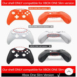 Official Microsoft Xbox One S Controller Front Shell White Black Original - DevineCustomz