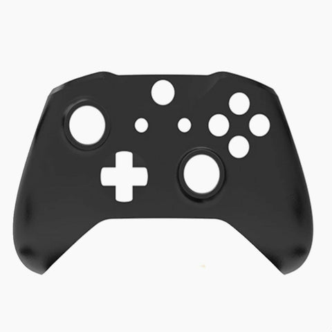 10x Official Microsoft Xbox One S Controller Front Shell Black Original - DevineCustomz customized controllers repairs parts