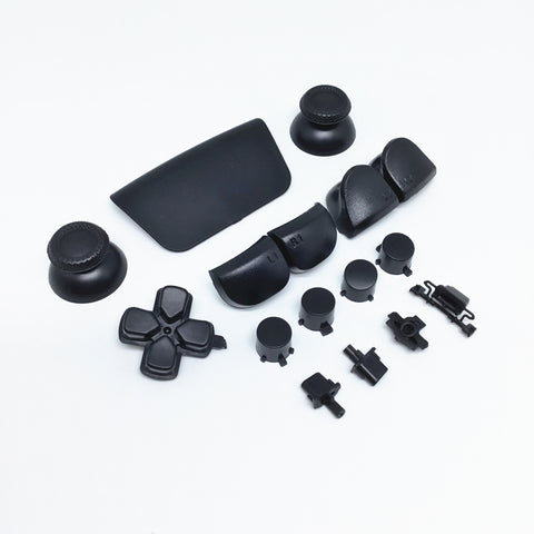 PS5 Next Gen Controller Plain Black Full Buttons Set