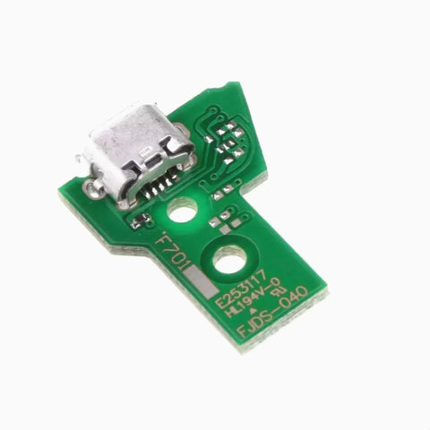 PS4 Controller USB Charging Port Socket JDS 040 circuit Board 12 pin - DevineCustomz