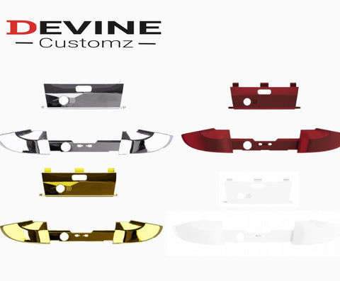 Xbox One Elite Series 2 LB RB & Home Button Surround - DevineCustomz customized controllers repairs parts