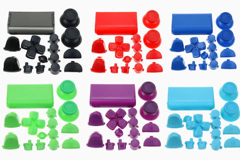 PS4 PlayStation Pro Full Custom Button Sets Version 2 - DevineCustomz customized controllers repairs parts