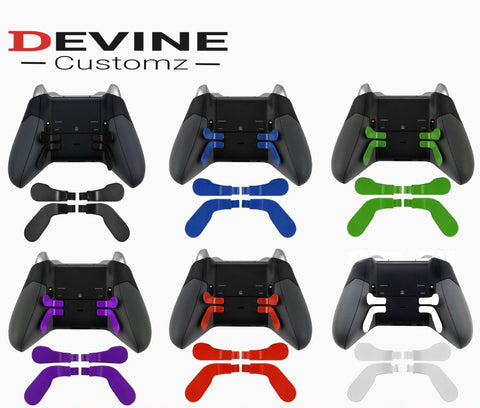 Xbox One Elite Series 1 & 2 Controller Rear Paddles - DevineCustomz customized controllers repairs parts