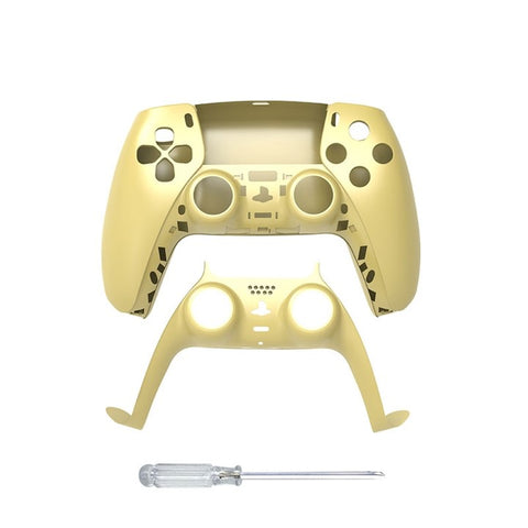 PS5 Controller Full Shell Replacement - Gold