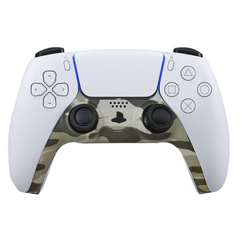 PS5 Custom Replacement Controller Trim Faceplate - Light green Camo