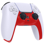 PS5 Custom Replacement Controller Trim Faceplate -  Red