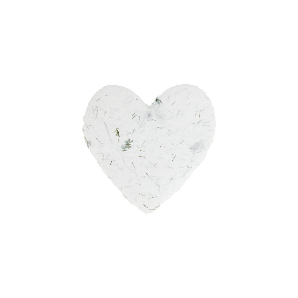 Load image into Gallery viewer, Fern Petite Handmade Paper Heart - Single