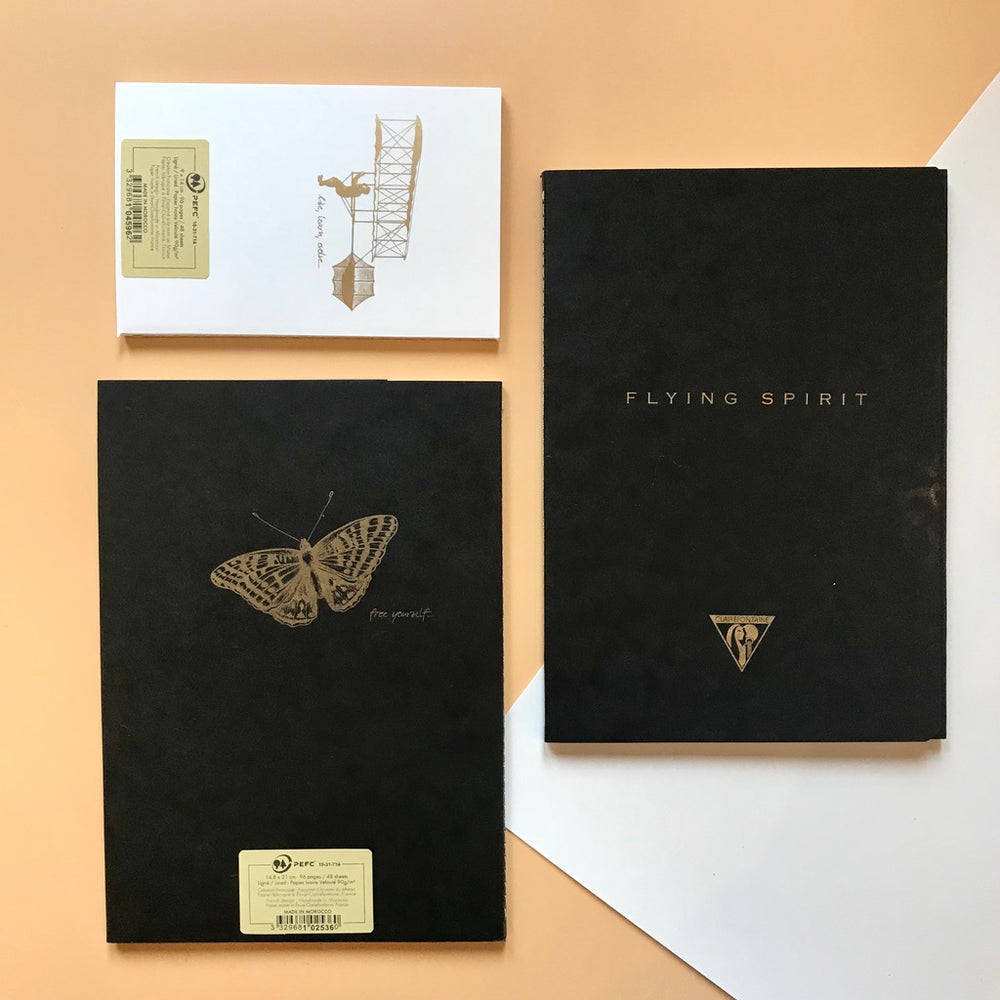 Flying Spirit Notebook by Clairefontaine