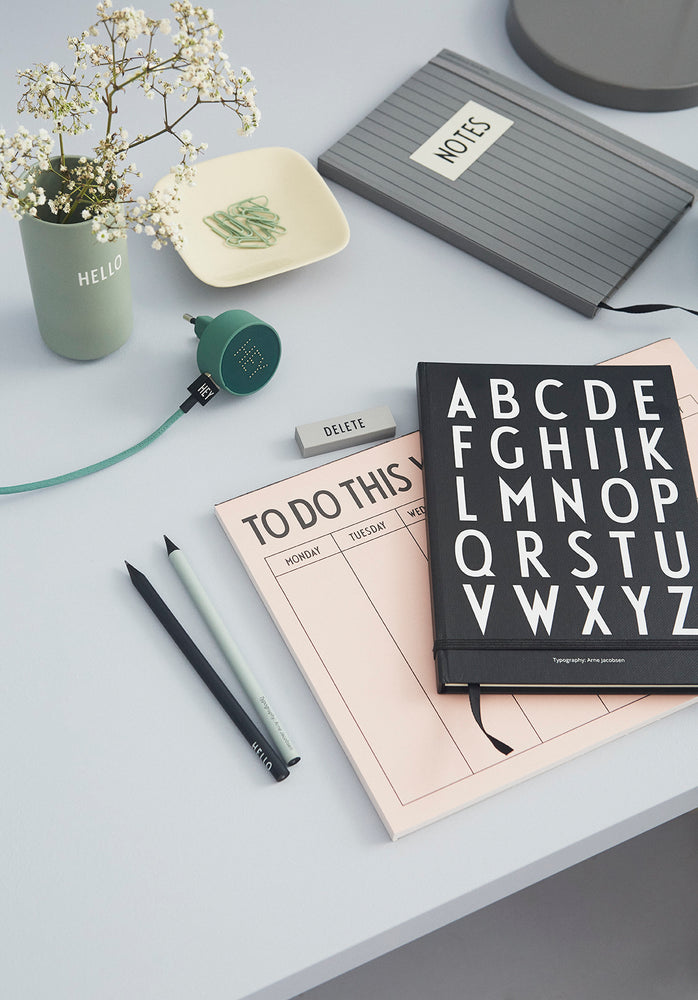 ABC Book by Design Letters