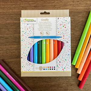 Double Ended Felt-tip Pens