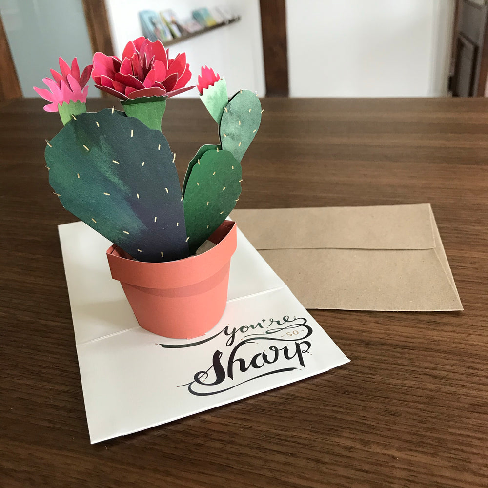 Load image into Gallery viewer, Cactus Card