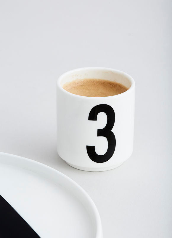 Espresso Cups by Design Letters
