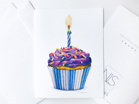 Now Available - Birthday Cupcake Cards