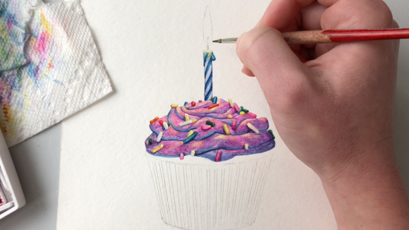 Coming Soon: Birthday Cupcake Cards