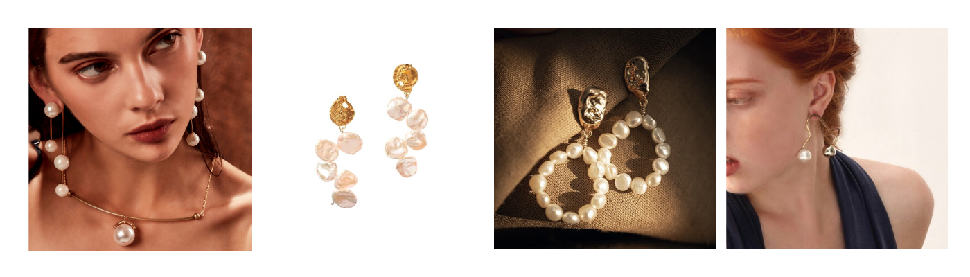Sol-de-Miel Pearl Earrings Collection Image