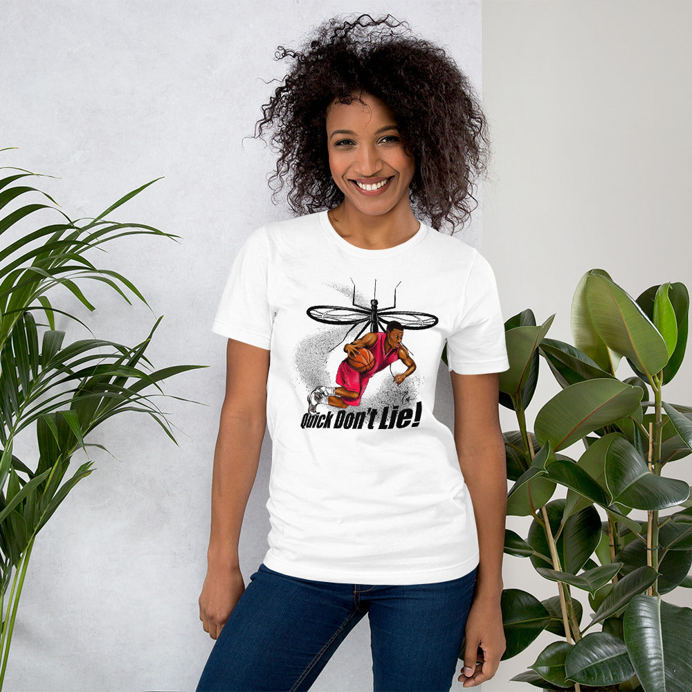 Quick Don't Lie Squito Unisex T-Shirt