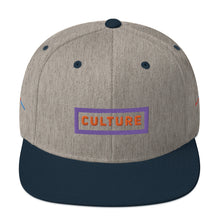 Load image into Gallery viewer, Culture Snapback Hat