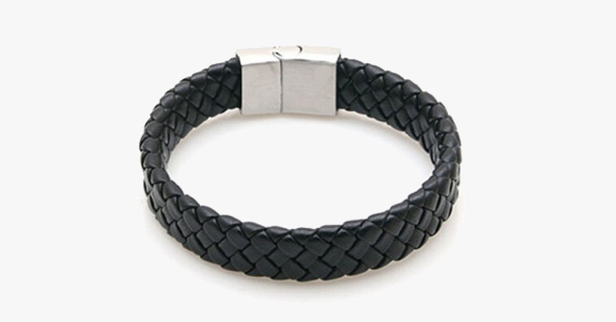 Braided Leather Bracelet for Men – A Style Statement You Can Boldly Make