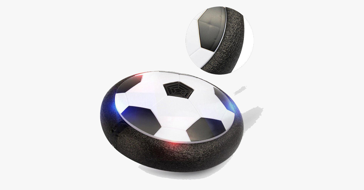 Indoor | Outdoor Air Power Hover Ball - Features LED Lights and Glides through the Air