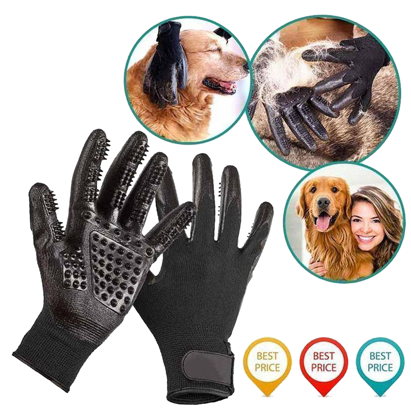 Pet Grooming Gloves - lightningcrate