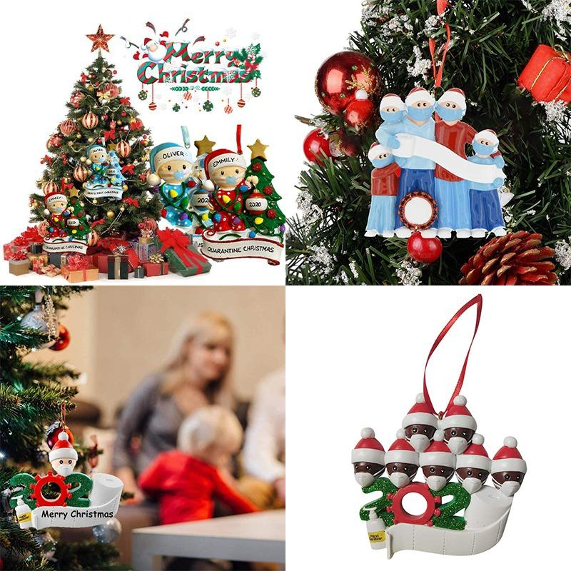 2020 Christmas Party Decoration Personalized Family Of Ornament Holiday Gift