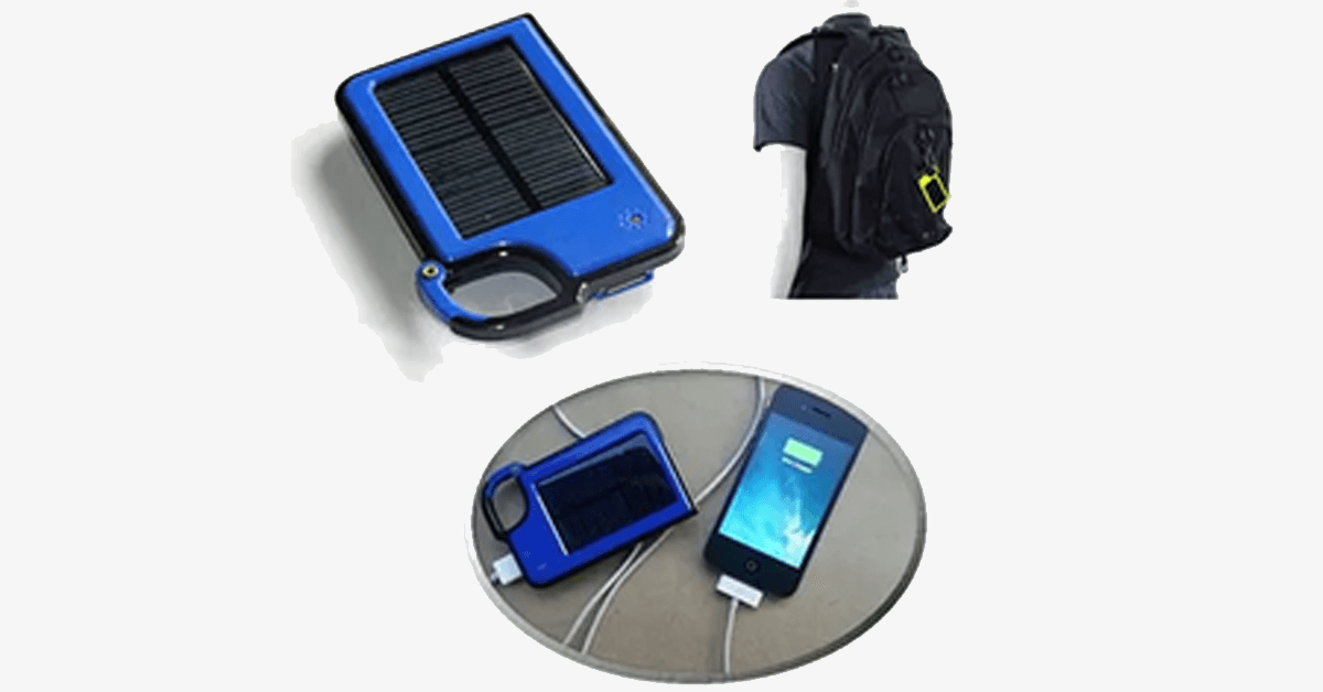 Solar Charger – Charge Your Smartphone On The Go!