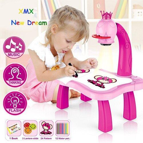 Trace and Draw Projector Toy with Full Set of Accessories