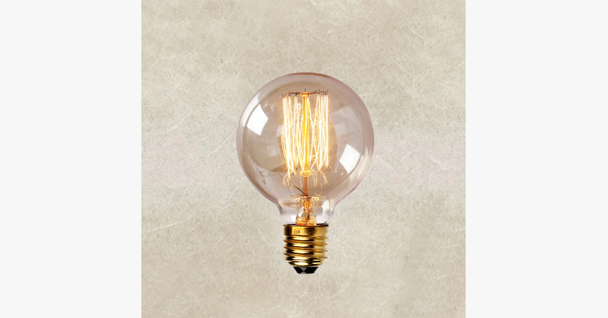 Edison Various Shapes Bulb