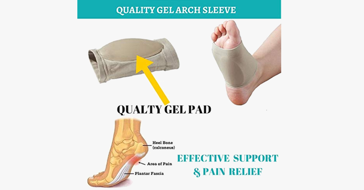 Plantar Fasciitis Therapy Wrap & Arch Sleeve