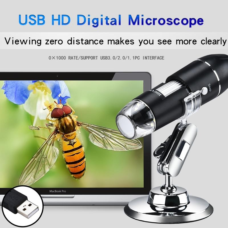 Portable Digital Microscope With USB Interface - lightningcrate