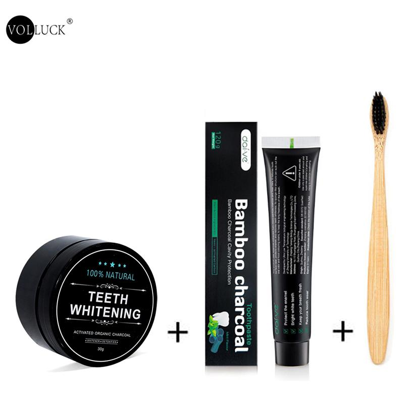 Activated Bamboo Charcoal Teeth Whitening Kit