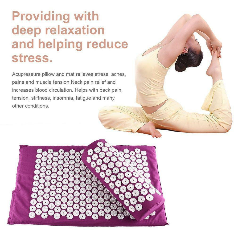 Body Head Cushion Massager Mat