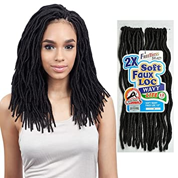 Soft Faux Loc Medium Lite