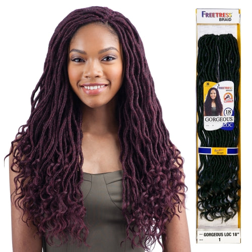 Freetress Braid Goddess Loc 18""