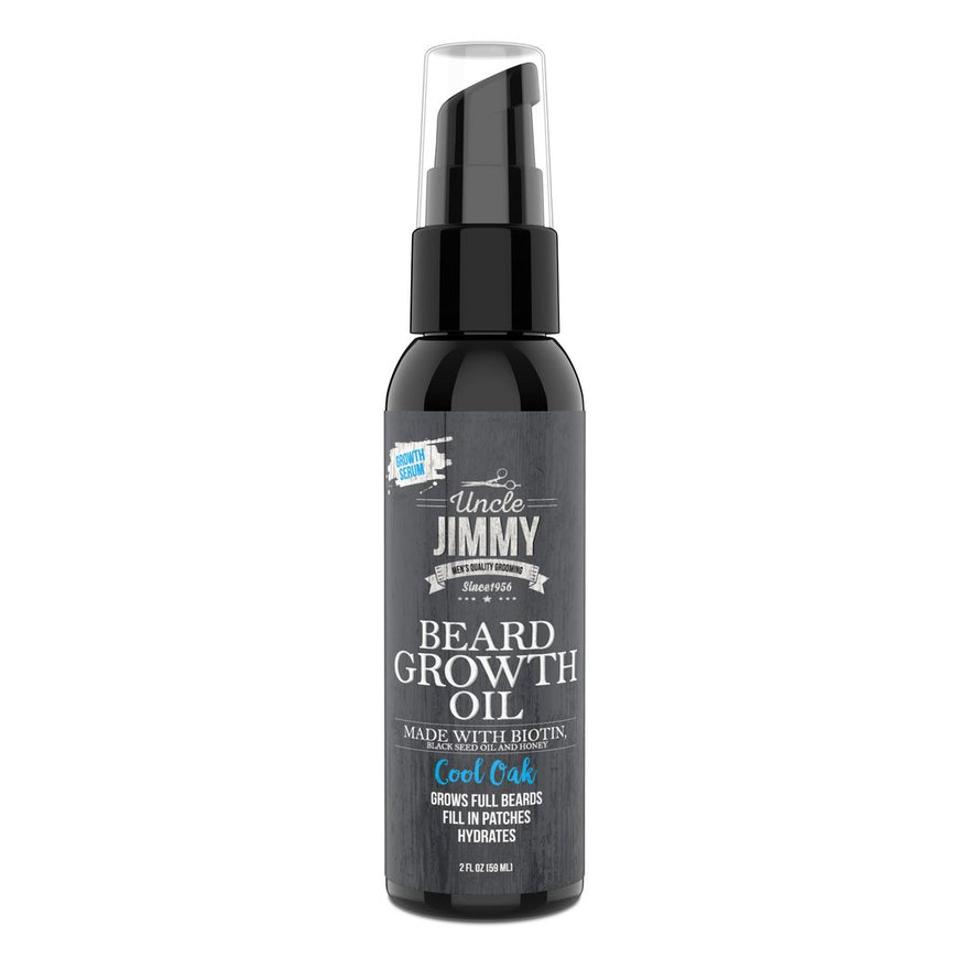 Uncle Jimmy Beard Growth Oil