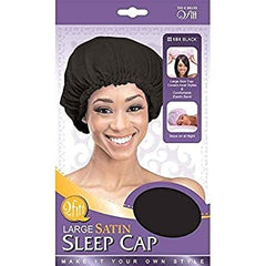 Qfitt Large Sleep Satin Cap