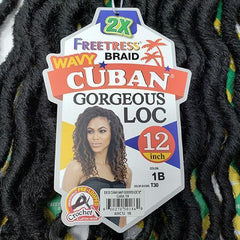 Freetress Cuban Gorgeous Loc