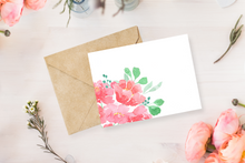 Load image into Gallery viewer, Peonies in a Pot - Greeting Card