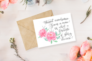 Blessed Assurance - Greeting Card