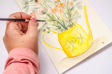 Load image into Gallery viewer, Joy Watering Can Bouquet