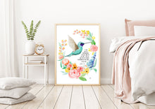 Load image into Gallery viewer, Humming Bird - John 5:10