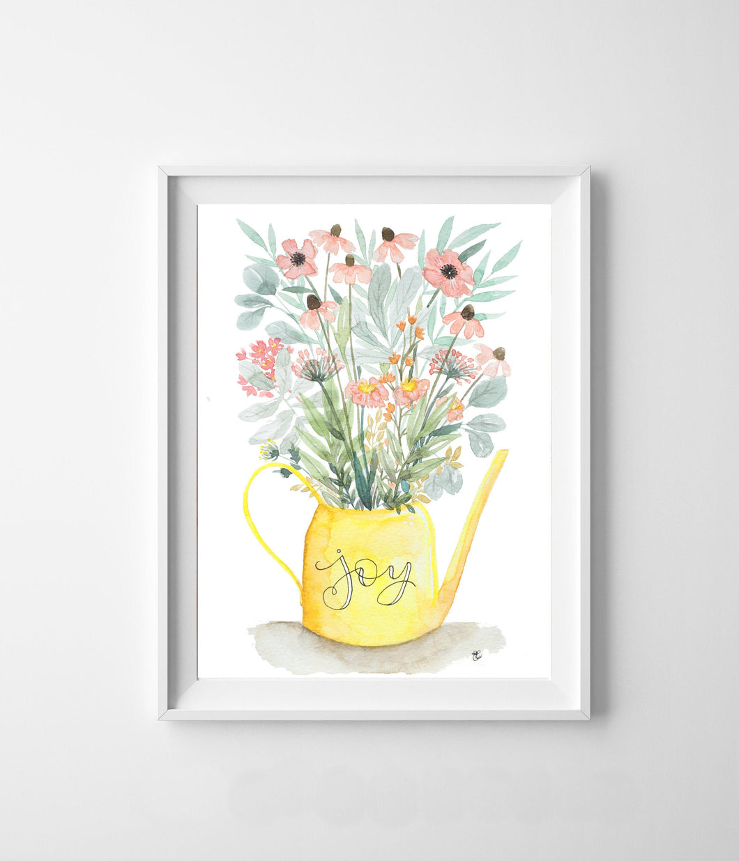 Joy Watering Can Bouquet