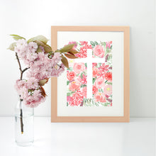 Load image into Gallery viewer, Cross Vector Floral Bouquet