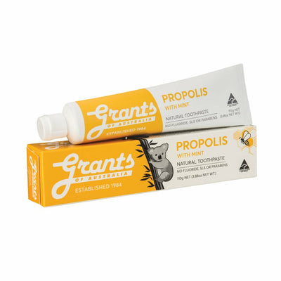 Grants Of Australia, Natural Toothpaste, Propolis with Mint