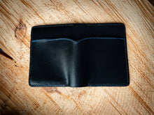 Load image into Gallery viewer, Badge Wallet - NYS Trooper in Black Buttero