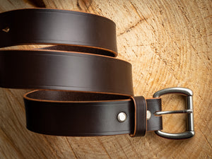 1 - 1/2 inch Belt - Sedgewick's English Bridle in Choco