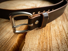 Load image into Gallery viewer, 1 - 1/2 inch Belt - Sedgewick's English Bridle in Choco