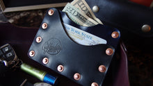 Load image into Gallery viewer, The Saddler Rivet Wallet