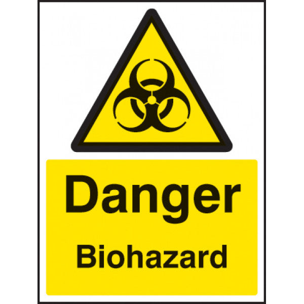 Danger Biohazard Safety Sign