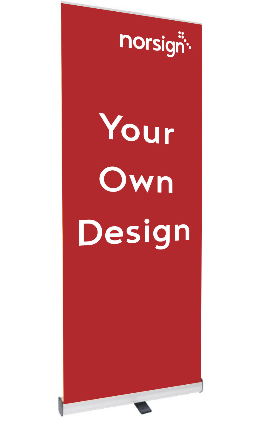 Your design / artwork Pop Up Banner  Size: 800x2000mm  Product Code: 60369